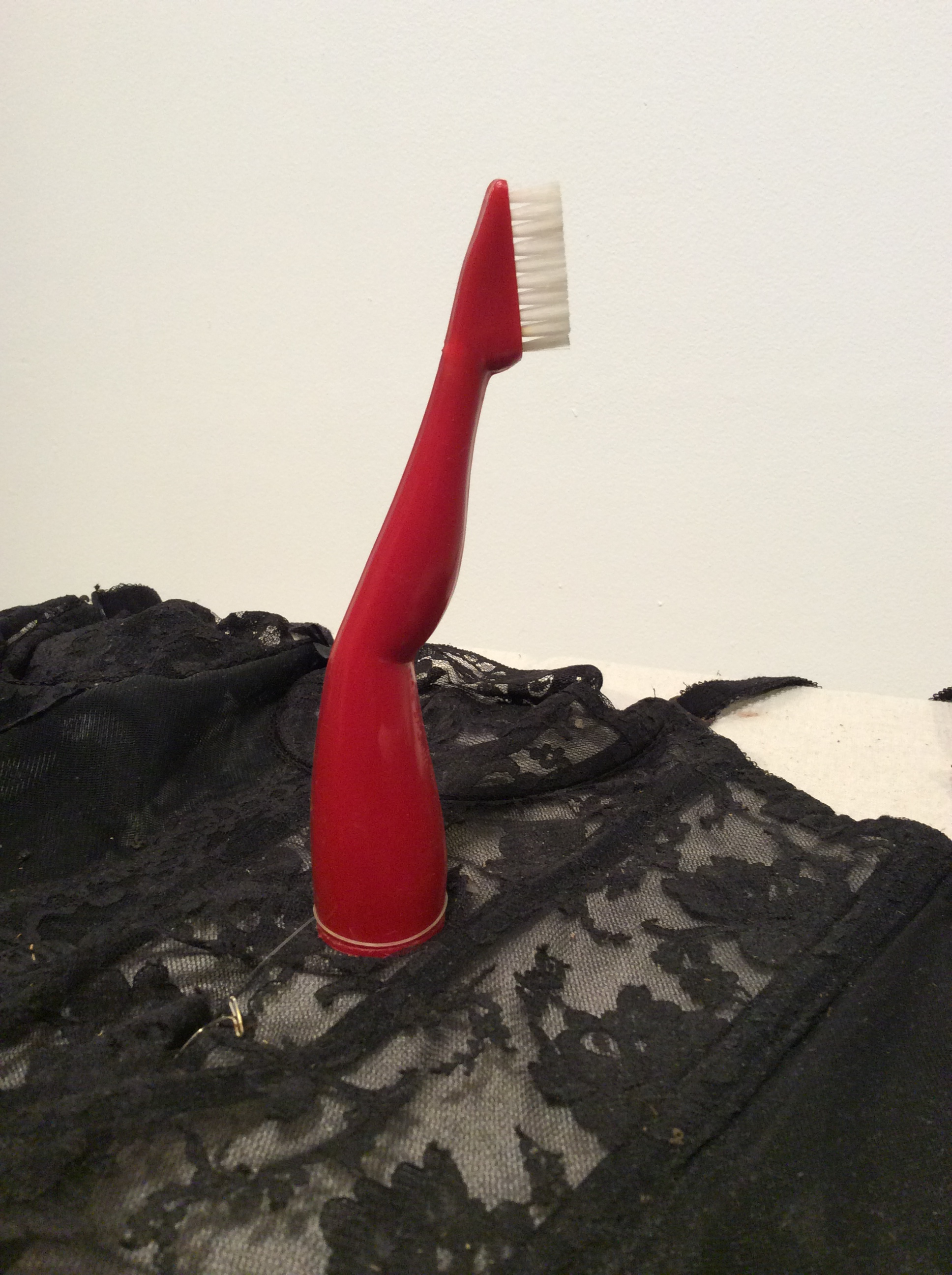 Red Stocking Toothbrush