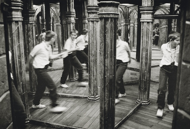 Hall of mirrors, Petrin Hill, Prague. 1998